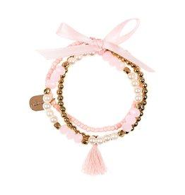 Souza For Kids Bracelet Maryo Powder-Pink Gold