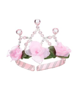 Souza For Kids Tiara Flowers Silver Pink