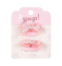 Souza For Kids Elastic Mini Liva White Pink 4Pack
