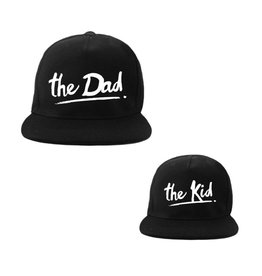 Van Pauline Twinning Cap The Dad & The Kid Black