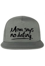 Van Pauline Own Design Cap 'Mom says' Khaki