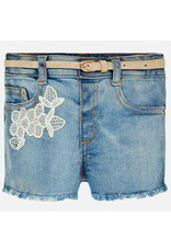 Mayoral Jeans Short Denim Heart