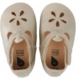 Bobux Soft Sole Gold Girls Sandal