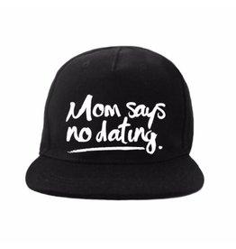 Van Pauline Own Design Cap 'Mom Says' Black