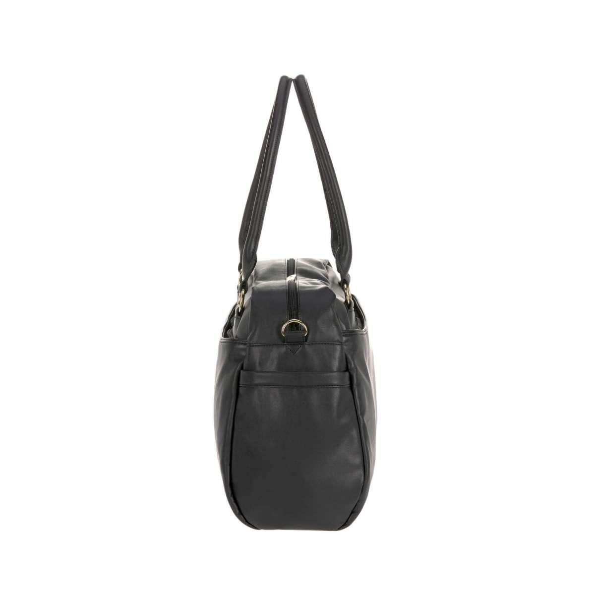 Lassig Nursery Andrea Fake Leather Black