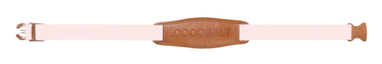 Cocobelt Cocobelt Baby Pink/Cognac