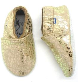 Stabifoot Soft Shoe Gold Leopard
