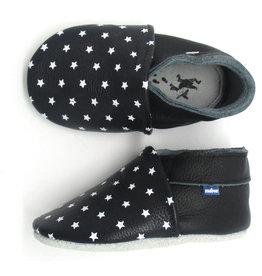 Stabifoot Soft Shoe Black Stars