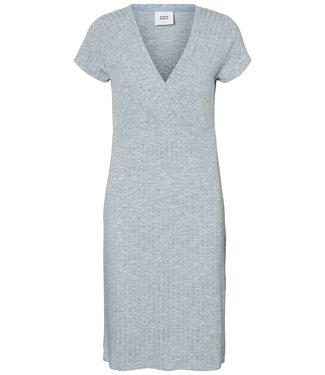 Mamalicious Aria Dress Ashly Blue Melange