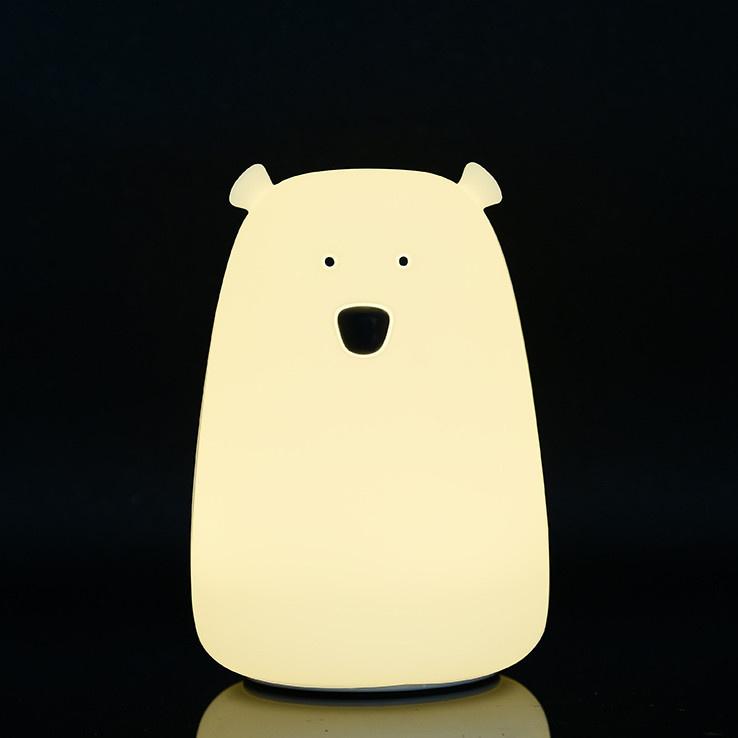 Mykelys Siliconen Led Lamp Bear Medium