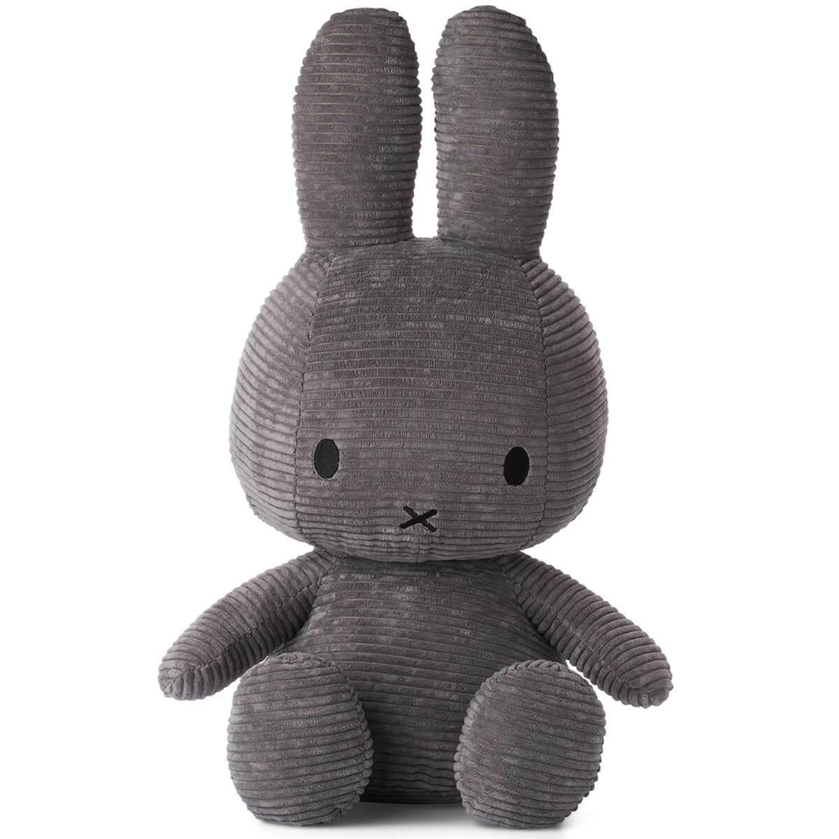 Bon Ton Toys Miffy Corduroy Dark Grey 50cm