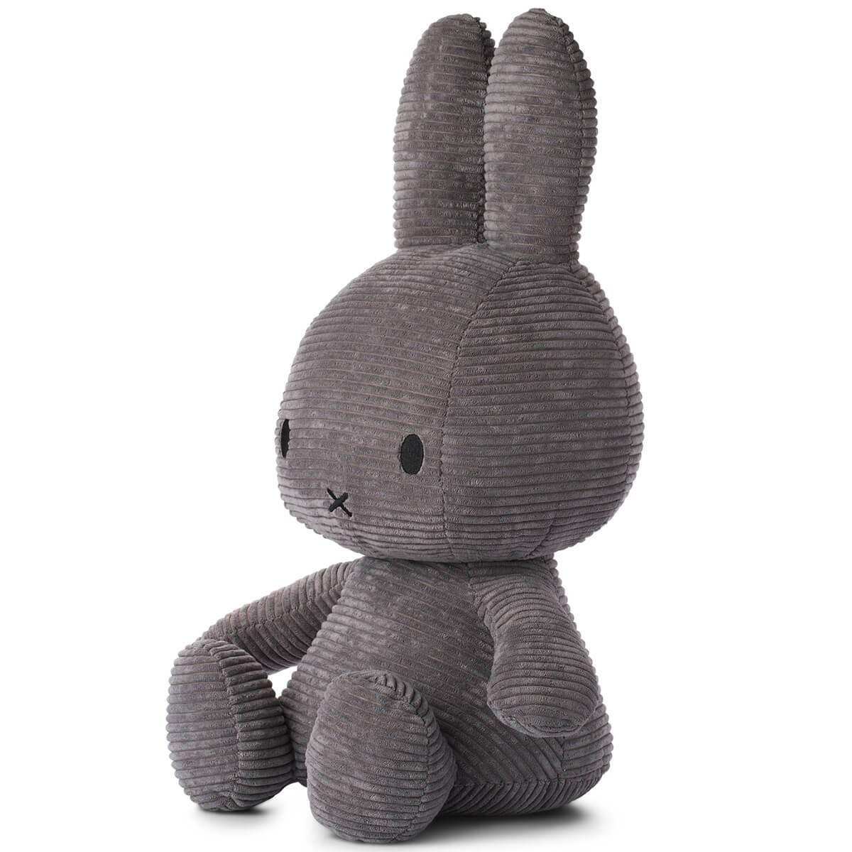 Bon Ton Toys Miffy Corduroy Dark Grey 33cm