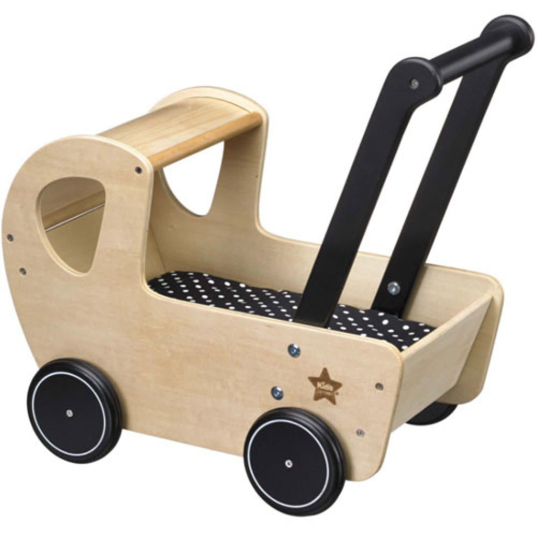 Kid's Concept Poppenwagen Met Bedset