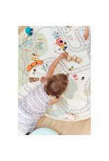 Play and Go Play & Go Opbergzak Speelmat Trainmap