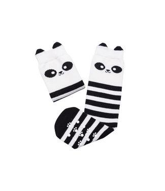 Mama's Feet Wanda The Brave Panda Knee Sock