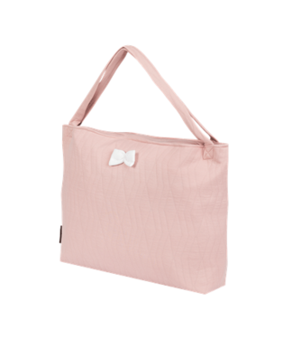 House Of Jamie On The Go Bag Geometry Jacquard Powder Pink
