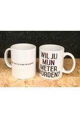 "Minimou Coffeemug "" Wil Jij Mijn Meter Worden?"""