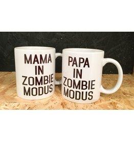 """Minimou Coffeemug """"Papa In Zombie Modus"""""""