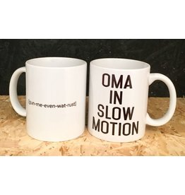 "Minimou Coffeemug ""Oma In Slowmotion"""
