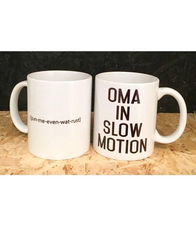 "Minimou Coffeemug ""Oma In Slowmotion"""
