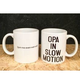 "Minimou Coffeemug ""Opa In Slowmotion"""