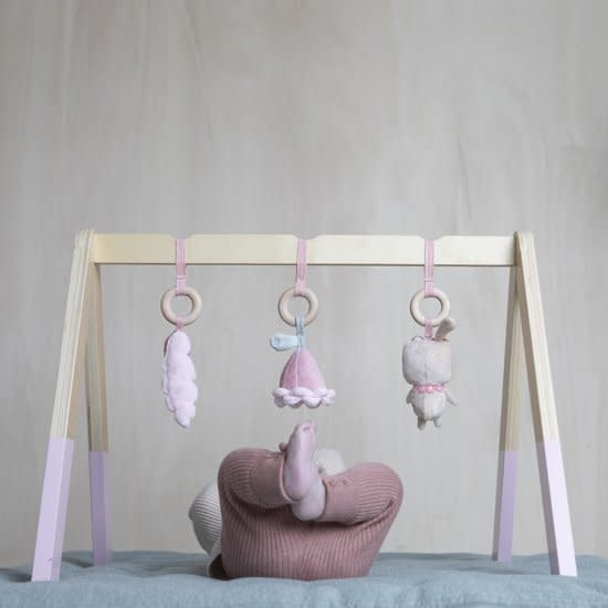Little Dutch Houten Babygym Met Speeltjes Pink