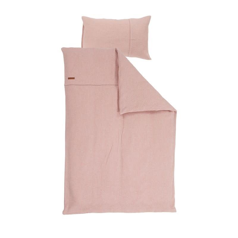 Little Dutch 1 Persoons Dekbedovertrek Pure Pink