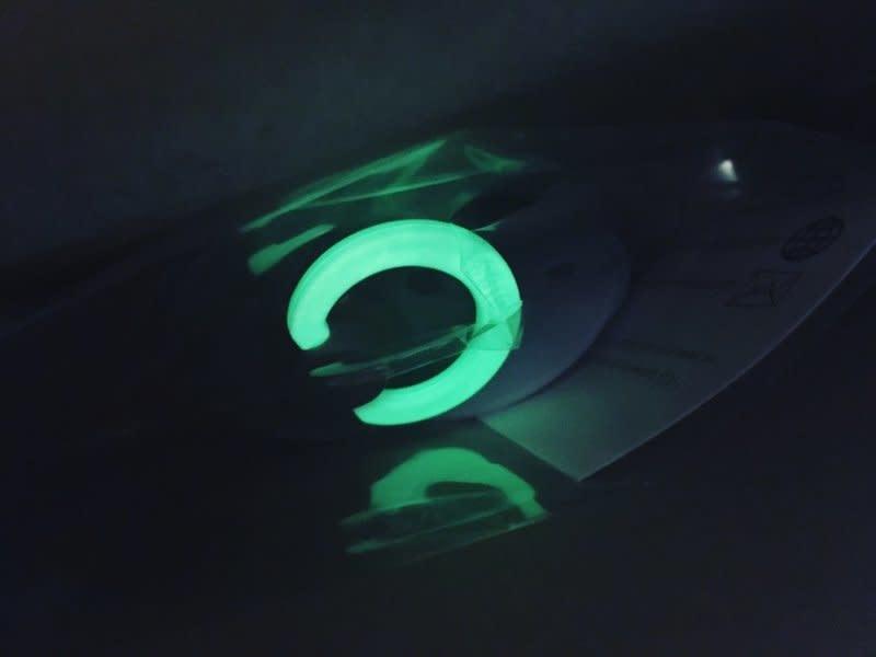 Bibs Bibs Fopspeen Natuurrubber Glow In The Dark