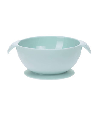 Lassig Bowl With Suction Pad Silicone Blue