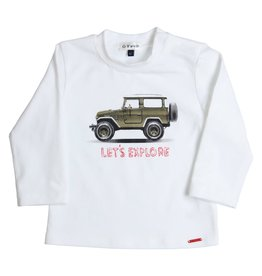 Gymp T-shirt Jeep Wit