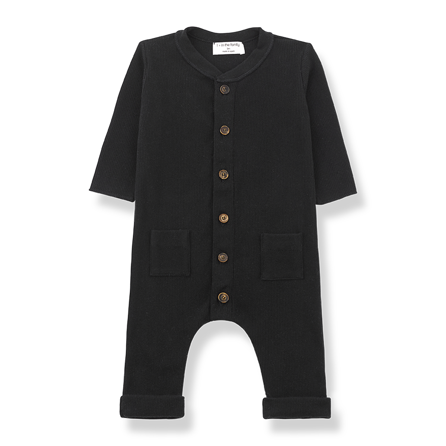 1+InTheFamily Jumpsuit Toulouse Black