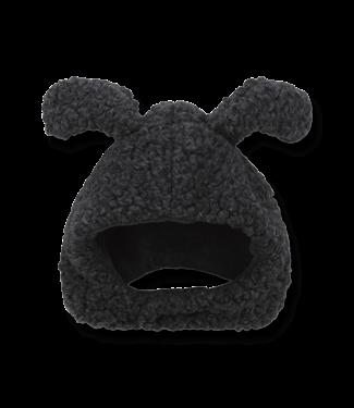 1+InTheFamily Beanie Banff With Ears Black
