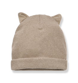 1+InTheFamily Beanie Paris With Ears Beige