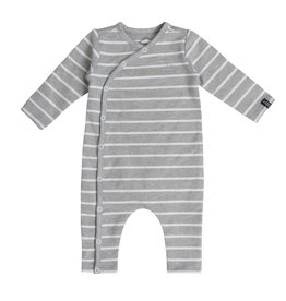 Beebielove Jumpsuit Stripe Grey White