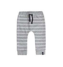 Beebielove Pants Stripe Grey White