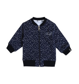 Beebielove Cardigan Dots Dark Blue