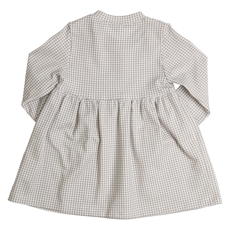 Gymp Dress Grey/Off-White