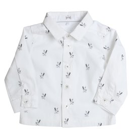 Gymp Shirt White/Grey Dog