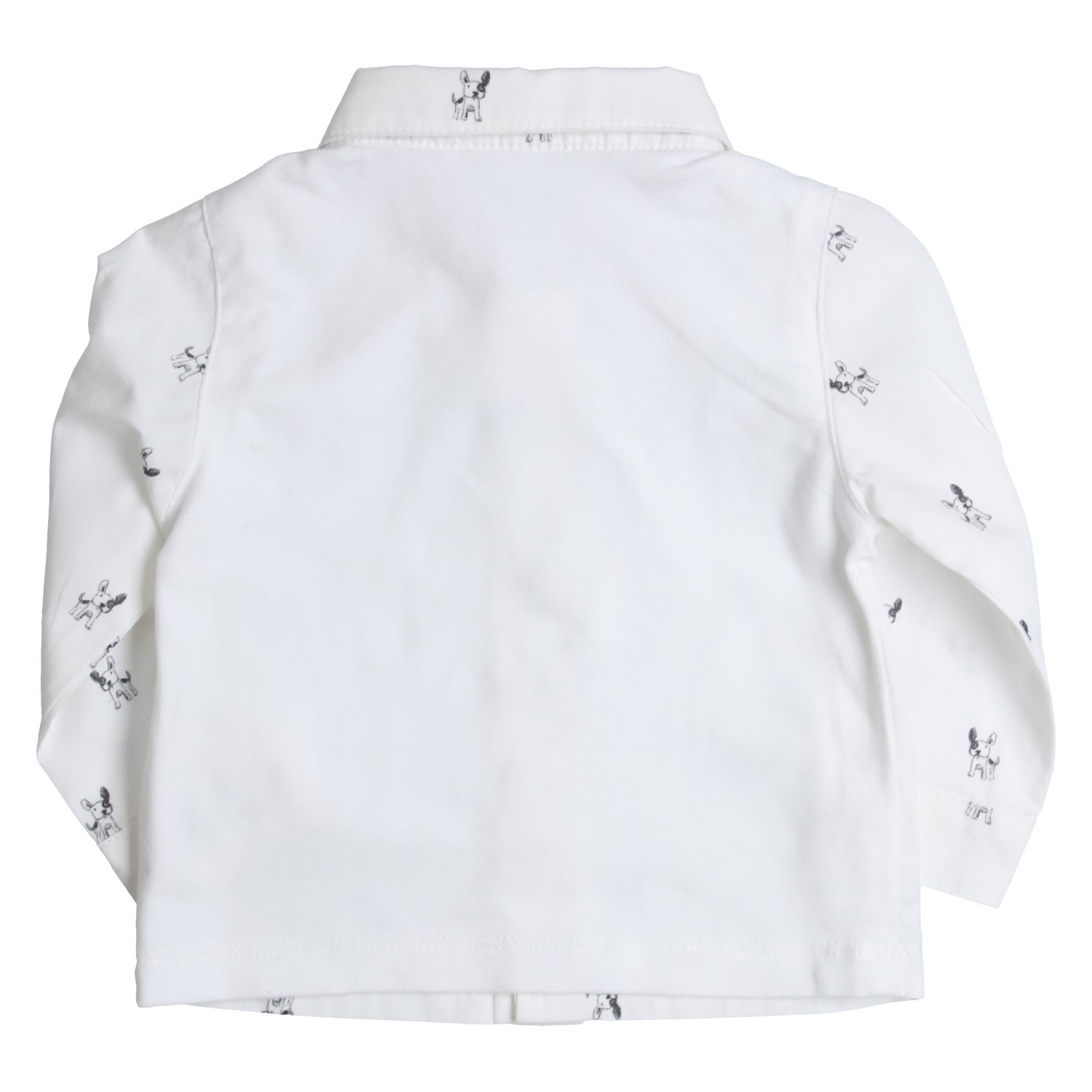 Gymp Shirt White/Grey Dog