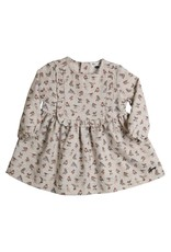 Gymp Dress Grey Birds