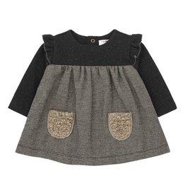 1+InTheFamily Dress Milano Black Beige
