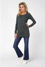 Noppies Maternity Tee Nurs  Shanna Urban Chic Stripe