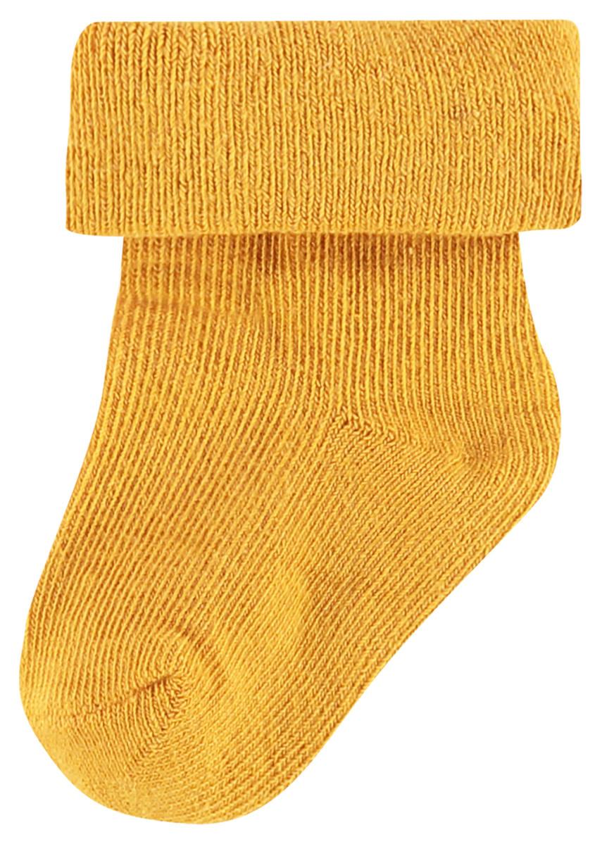 Noppies Levi  Stars Sock 2-Pack Honey Yellow 0-3M