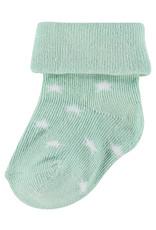 Noppies Levi Stars Sock 2-Pack Dark Green 0-3M