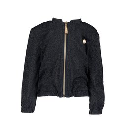 Le Chic Bomber Navy Lurex Blue Navy