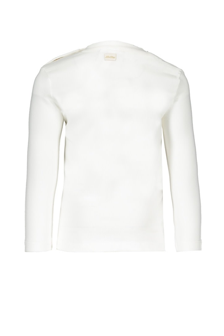 Le Chic Tee Tiny Glitter Teddy Off-White