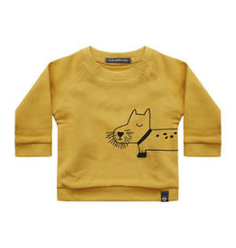 Your Wishes Sweater Dog Walker Yellow