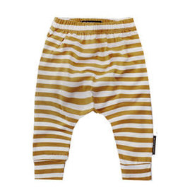 Your Wishes Baggy Pants Ochre Stripes