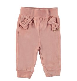 Le Chic Pants With bow and Ruffle Powder Blush