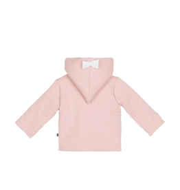 House Of Jamie Bow Tie Hooded Jacket Powder Pink